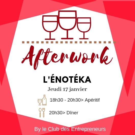 afterwork - L'Énotéka - L'apéritif