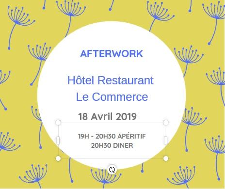 Afterwork - 18 avril - Le commerce - L'apéritif