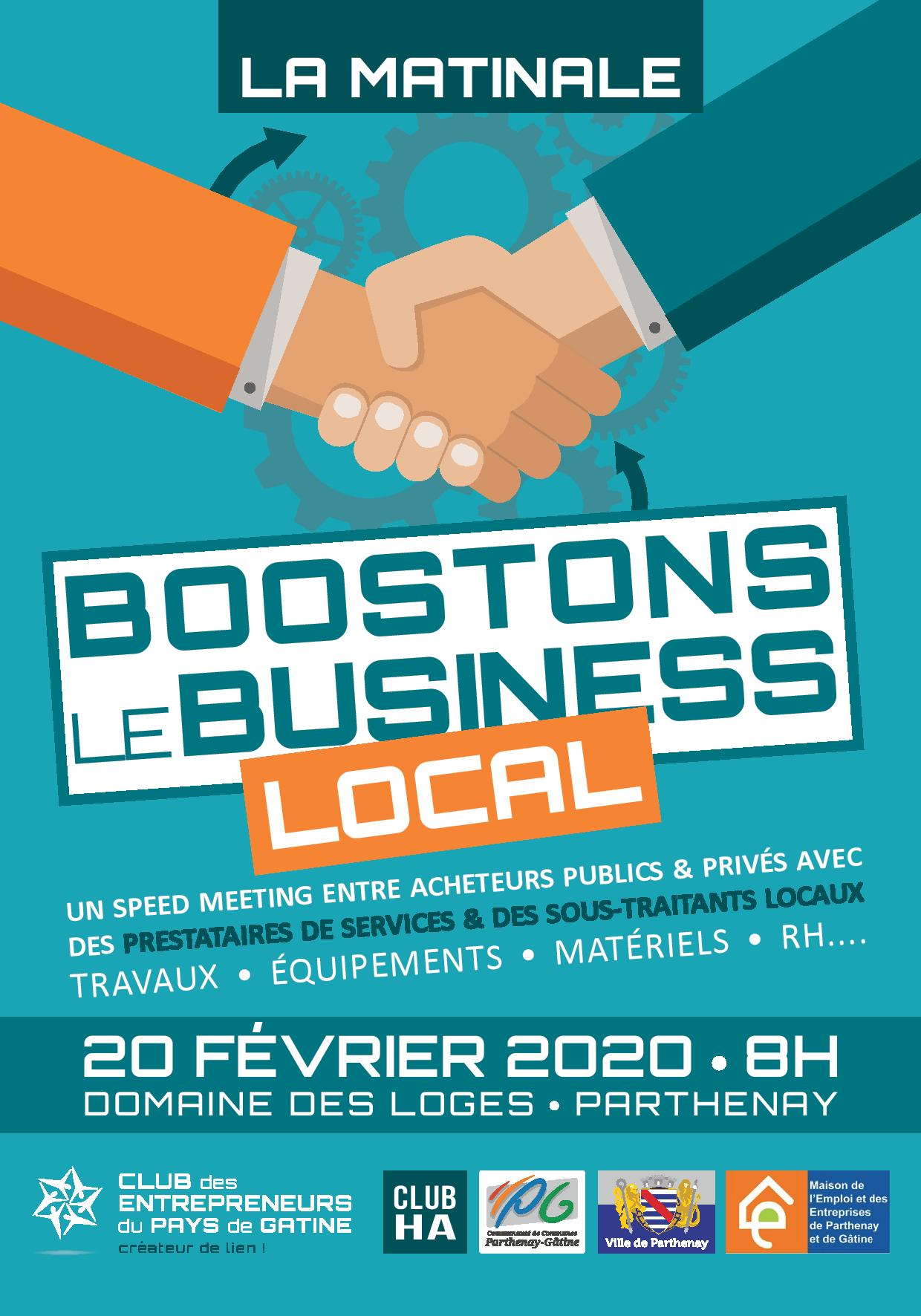 [Matinale] : Développons le business local !