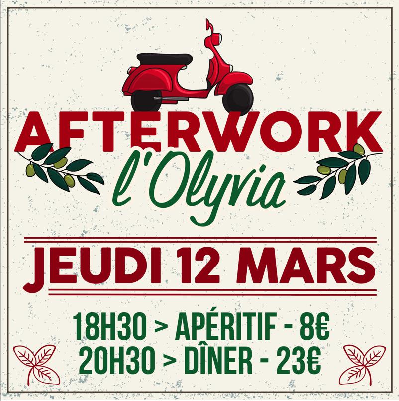 AFTERWORK - L'OLYVIA