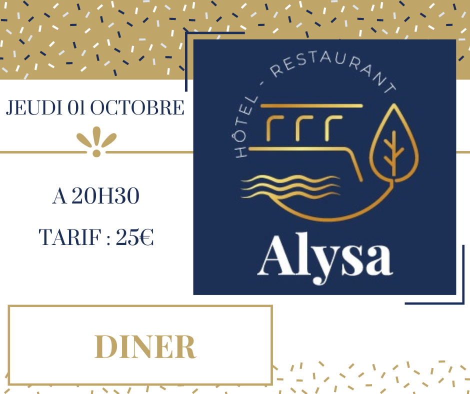 AFTER WORK (la suite) - LE DINER - ALYSA